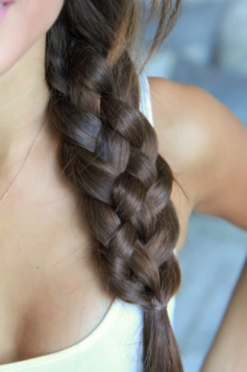 Five-Strand Braid We've spotted this bohemian five-strand plait at music festivals and on the runway. While it takes tons of concentration to create, the final basket-weave effect will wow all your followers.