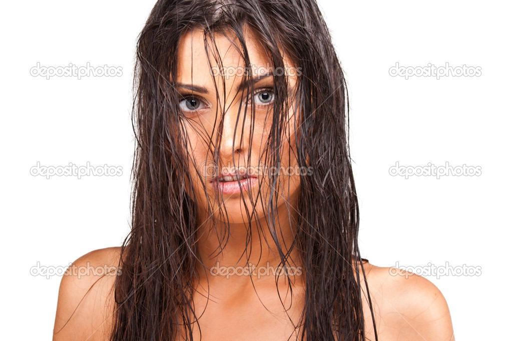 Playing with wet hair. It can damage your hair and cause split ends.