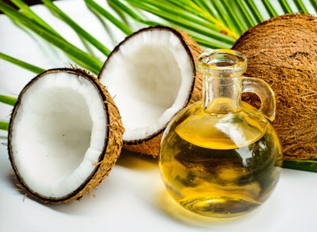 Coconut oil contains lauric acid, a powerful antibacterial and antiviral agent that protects you from viruses, infections, inflammation and acne. It's also rich in essential fatty acids and vitamin E, which are perfect for keeping your skin moist, soft, and wrinkle-free!