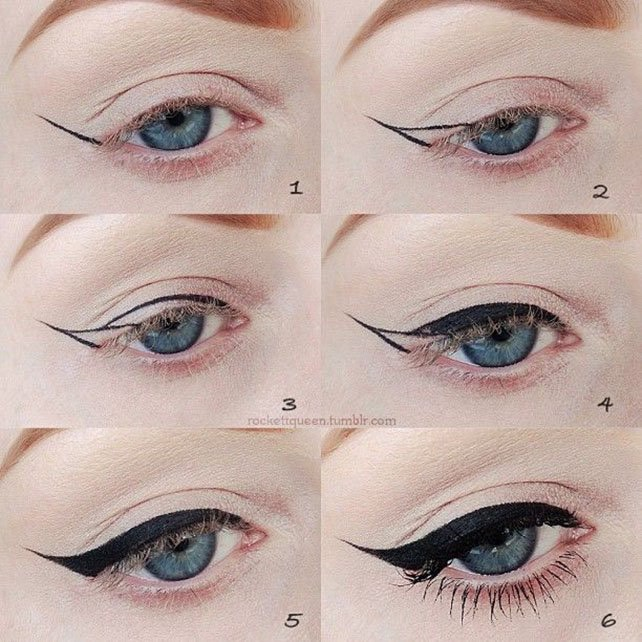 How to do eyeliner