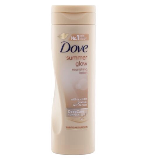 After rinsing off with water ( make sure it's not too cold, I find the colder the water the not so soft my legs are) dry as usual, then moisturise. I strongly recommend this dove summer glow, not only does it moisturise legs beautifully but gives them a subtle tan! Leave to sink in and voila!
