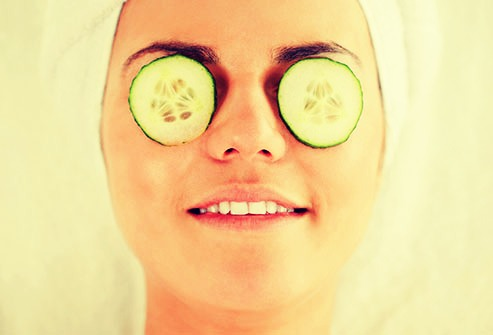 Cucumbers help you not have puffy eyes. Its really Good for you if you have allergies. if you have allergies