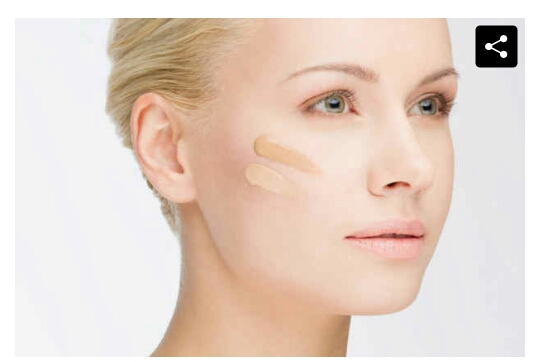 3. if you accidentally purchase a foundation that's to dark, adding a bit of moisturizer to your mix can help lighten it.