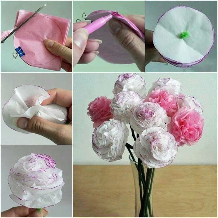 how to make tissue paper flowers verywell family - 702×702