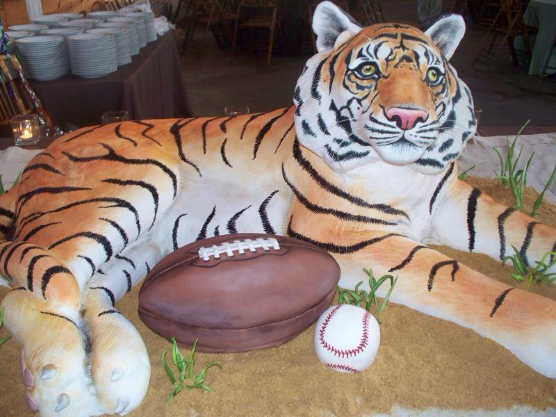 фото торт тигра