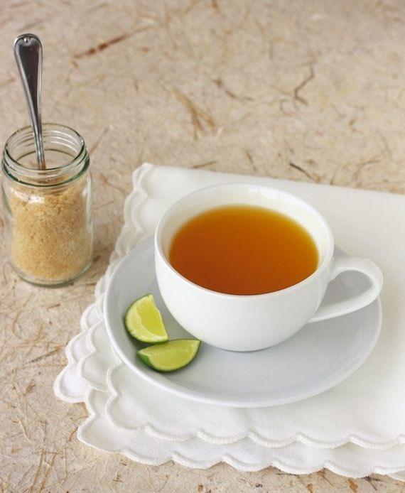 Turmeric Tea with Lime RecipeHere