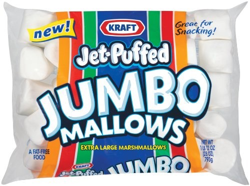 Mini or jumbo marshmellows