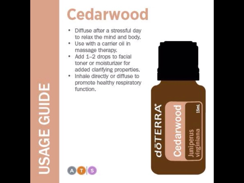 Cedarwood Oil Doterra