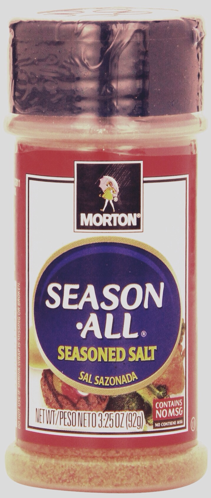 seasoning salt is the first thing you'll need.