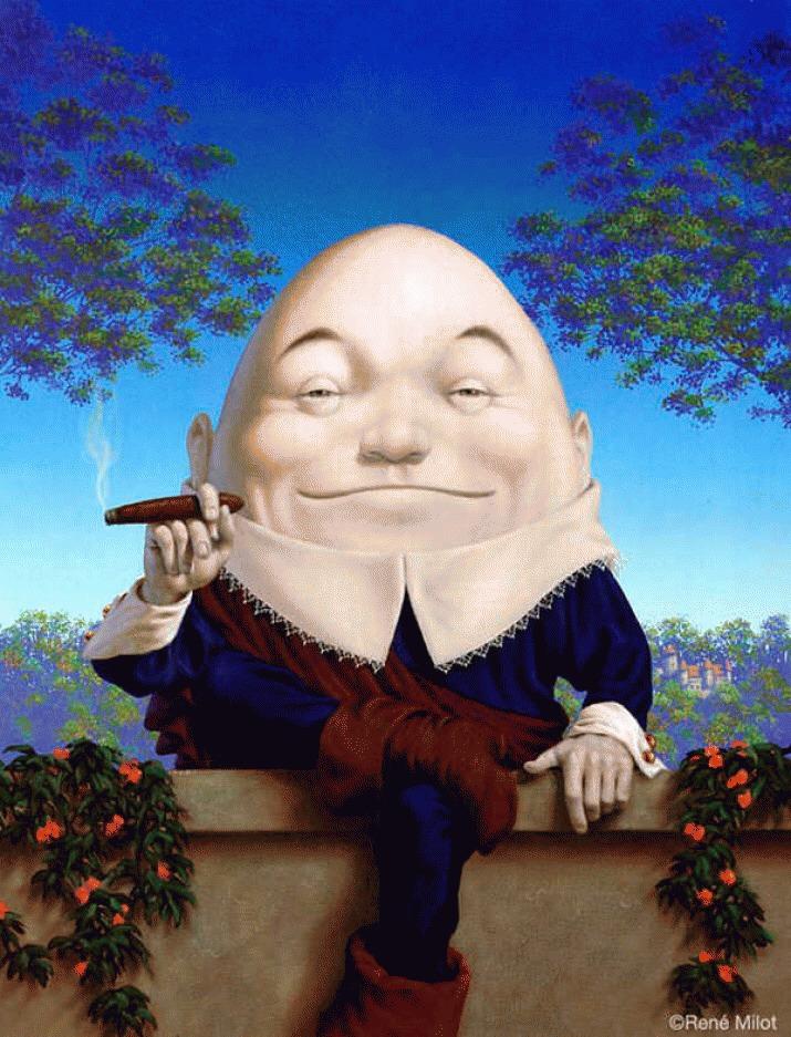 Famous Humpty Dumpty 💀😁💀➡️➡️➡️