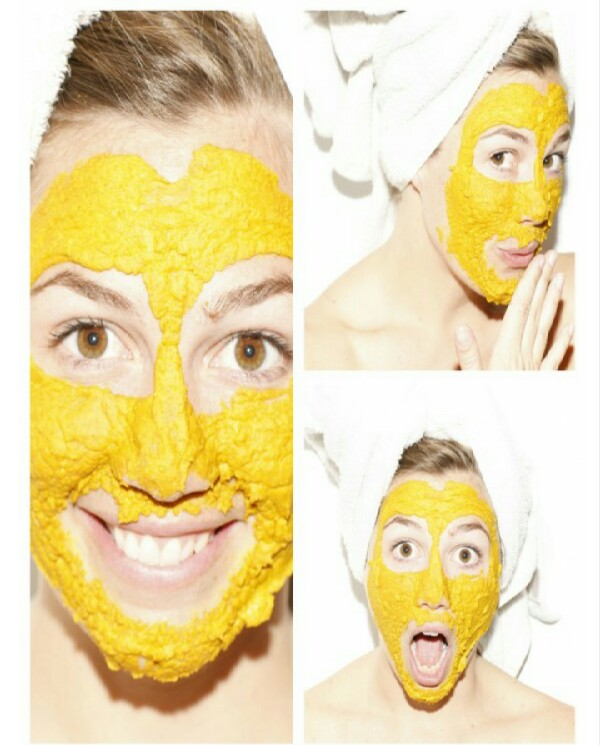 Turmeric Face Mask.