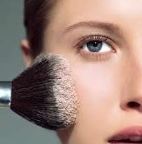 Pat on your powder instead of sweep so u don't move around the coverage.