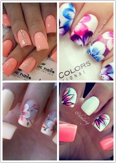 Have a look through these beautiful summer designs for fingers and toes!! 💅😍