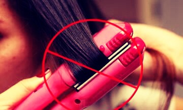 Don't use heat styling tools as often. 👉