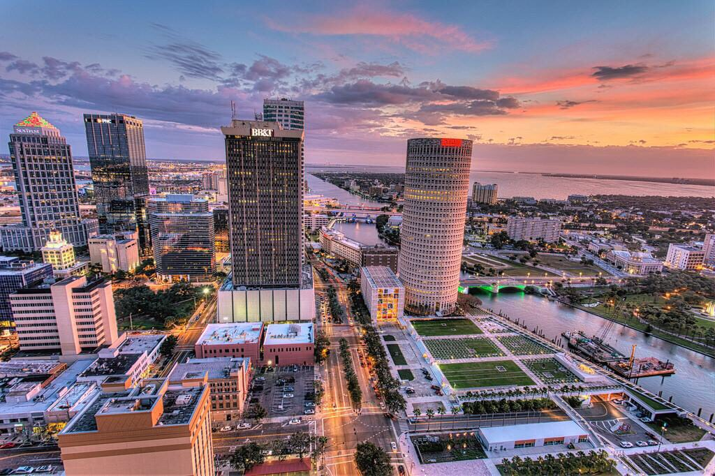 9. Hit the city! You're 21!!! (Pictured: Tampa, FL)