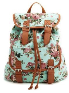 Cutest bag ever! I've got the bag and it's freaking amazing it's cute and pretty big inside and great for spring