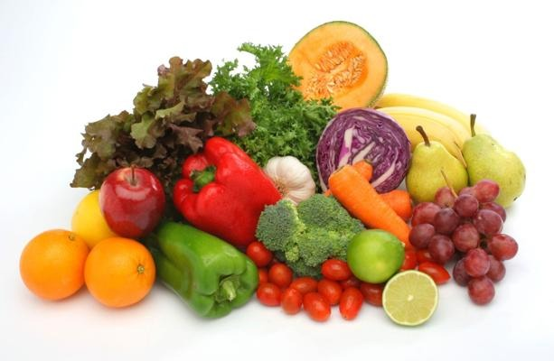 The biggest things on your plate should be the veggies because they give you more energy