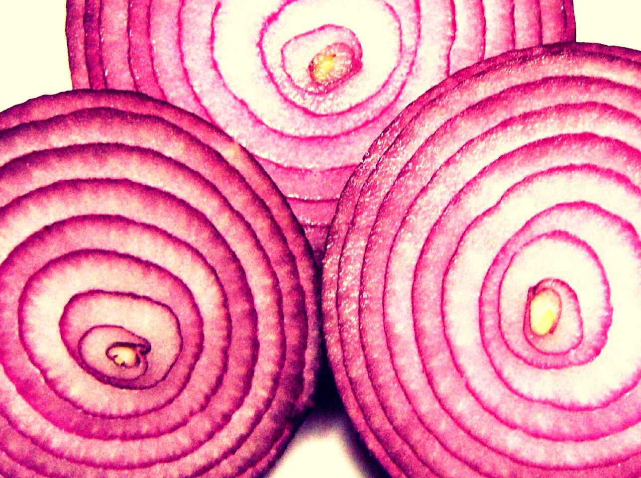 Finely chop a whole red onion.