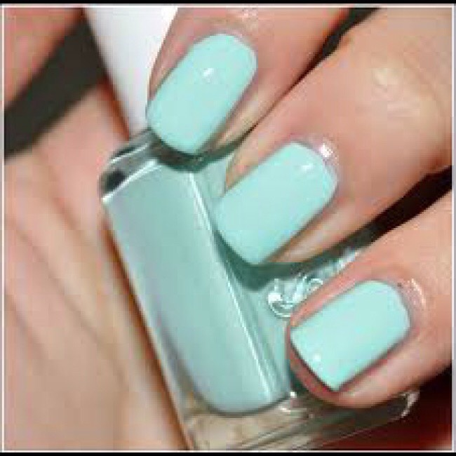 Essie mint candy apple- this is a perfect spring/summer nail polish. It looks amazing on tanned hands in the summer
