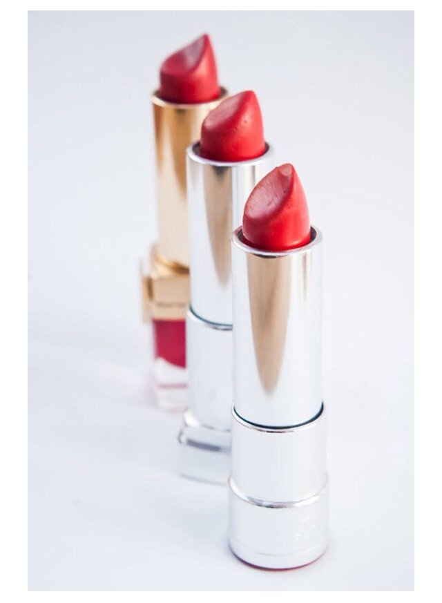 77. When choosing a red lipstick, you just want to remember to get one that looks good with your undertone. If you have a warm undertone, then go for warmer reds, and if you have a cool undertone, then go cooler.