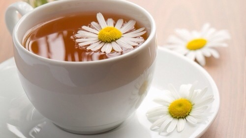 Chamomile tea  For best results brew some chamomile tea and run through hair , or also use spray bottle
