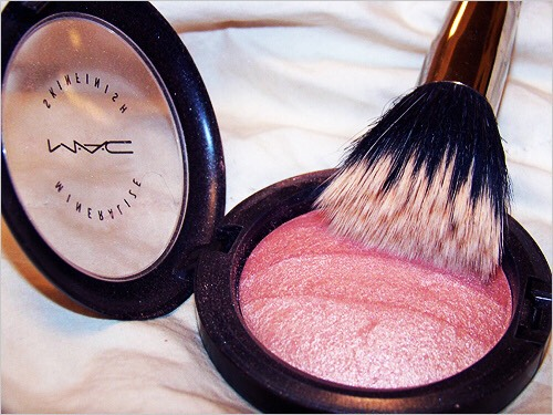 Next, comes the blush to make your face a little red/pink.