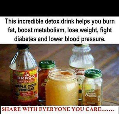 This incredible detox drink helps you burn fat, boost metabolism, lose weight, fight diabetes and lower blood pressure.