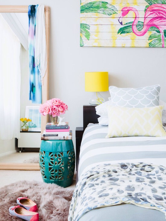 4. Even Your Decorations Are Decorated Layering with fine details is a quality design tip to refresh a room, but if you're adding paint and fabric to everything you see, you might be over taking this tactic a little too far. Cool it!
