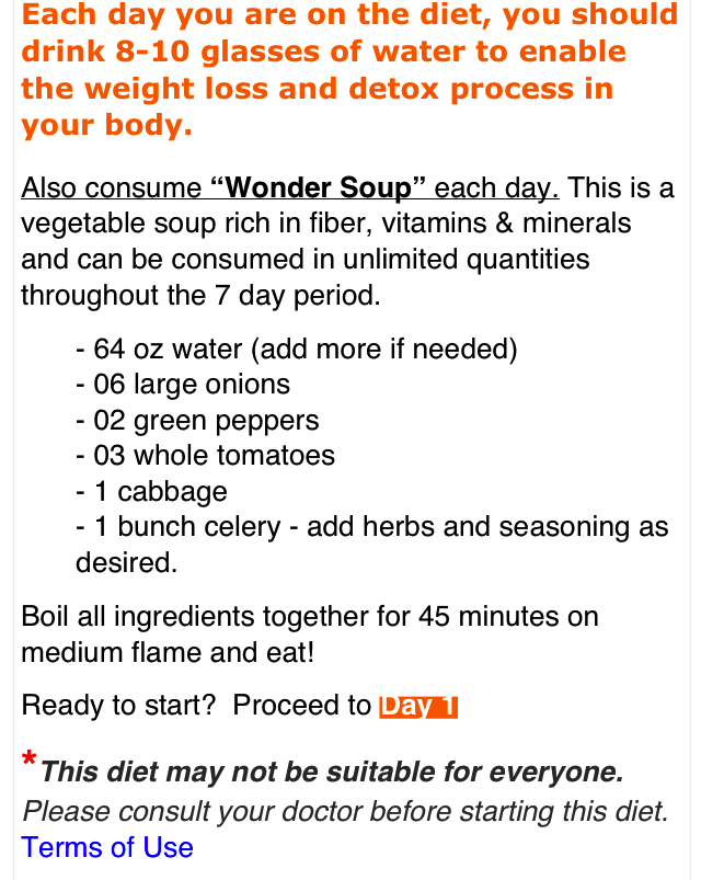 Lose 10 Libras In 7 Days Cabbage Soup 7 Days Diet Musely