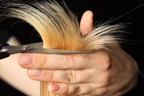 If you have a 4cm hair cut for every 2-3 months this will help your hair looking healthy and reduce split ends