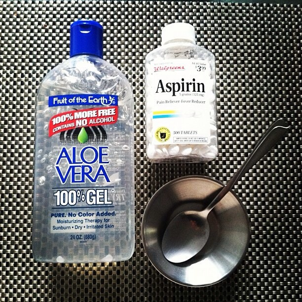 Aspirin face mask for gorgeous clear skin. Pls tap for full view.