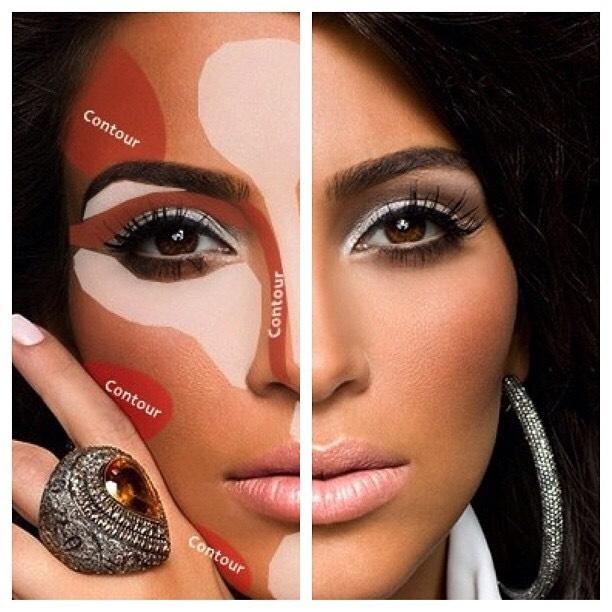 How To Do Makeup Like Kim Kardashian - The Best Makeup Tips and ...