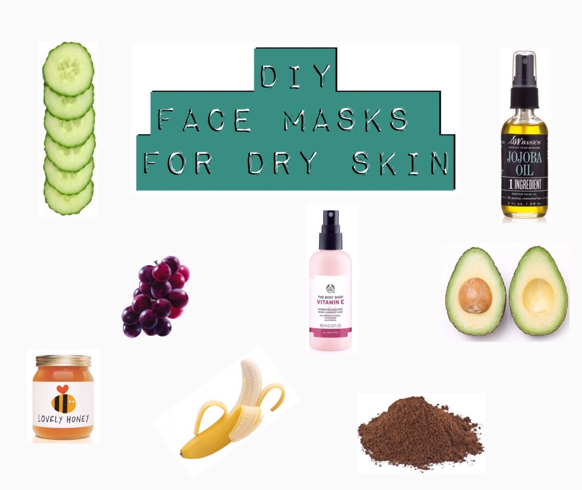 Winter is full on upon us + it can leave you with dry + flaky skin like no other! Or maybe you just usually tend to have dry skin… These face masks are super simple + easy to make + will give your skin that extra punch of moisture it's been begging for! Bonus: Make a bigger portion + use it to alleviate dry skin all over your body.