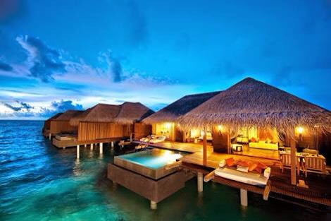 the Maldives have always been on the top of my bucket list! it's so awesome!!