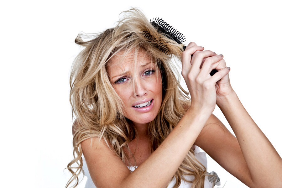 Tired of having to many knots and tangles in your hair like this? Well, now I'm saving you the trouble of having to struggle! Here's how to make sure they don't happen again!