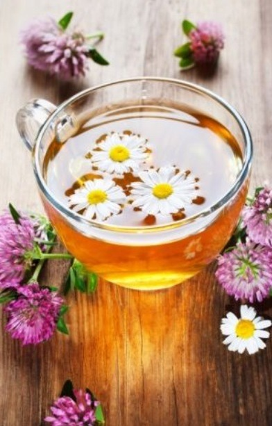 Lighten your hair with chamomile tea and fresh lemon juice. Mix it together and apply it to your hair evenly. Allow your hair to dry while sitting in the sun or use a blow dryer - The heat will lighten your locks.