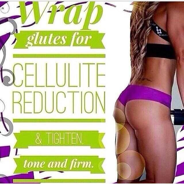 Who wants to wrap their booty to smooth the skin and tighten it up?? BOOM these wraps can do it!