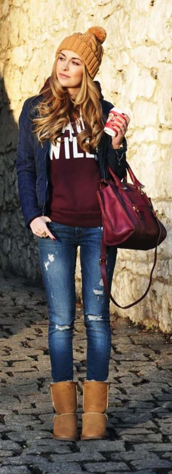 12. College Winter Outfit Idea