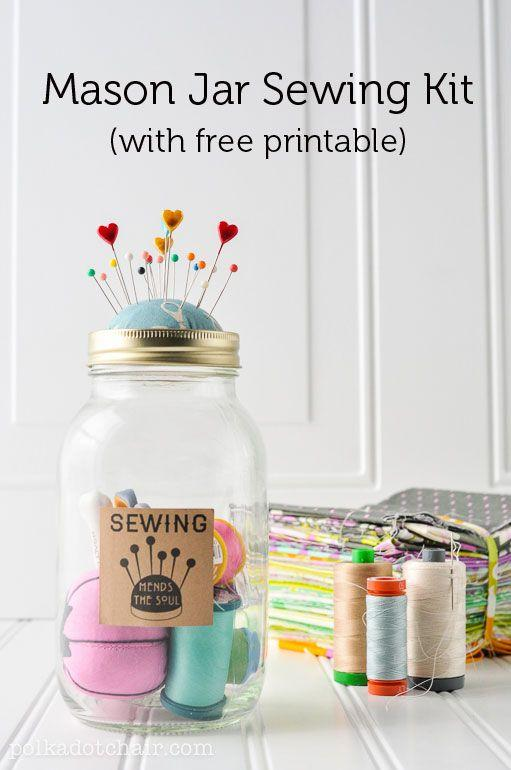 Keep Your Sewing Supplies Together!