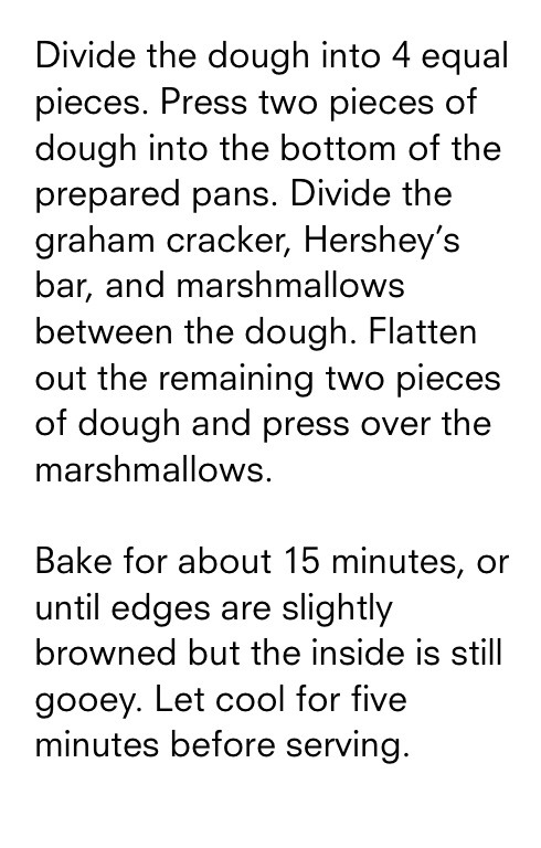 Divide the dough into 4 equal slices.