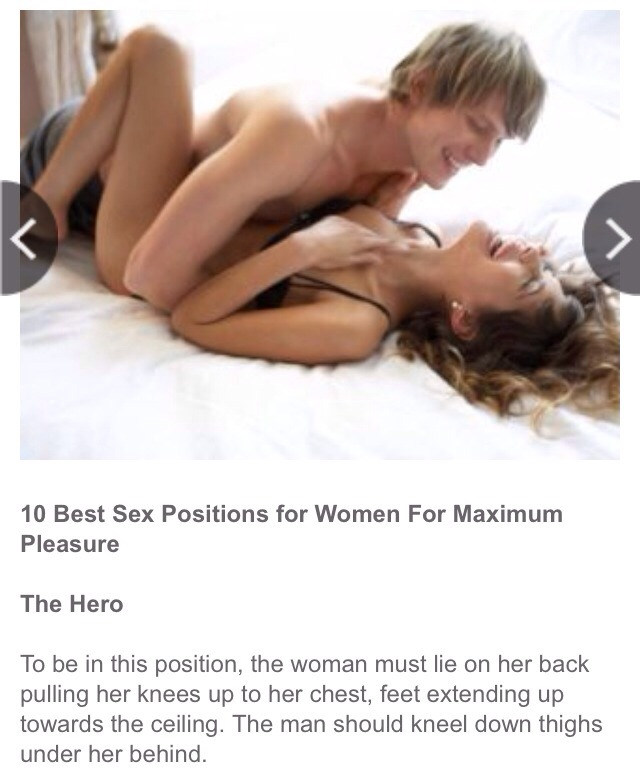 sex positions yo pleasure girls