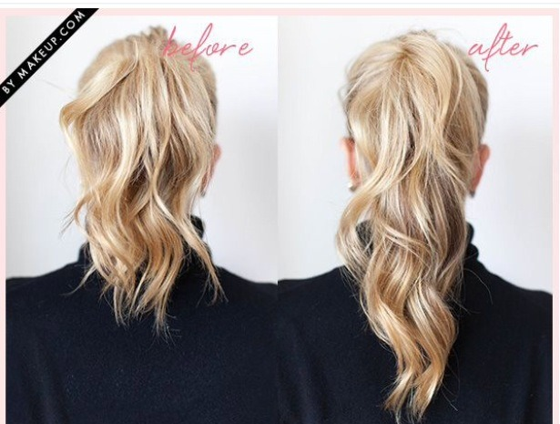 Making your ponytail longer and fuller is way easier than you thought!