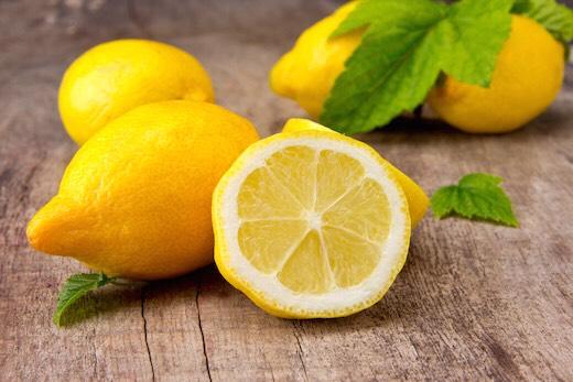 1/2 a lemon