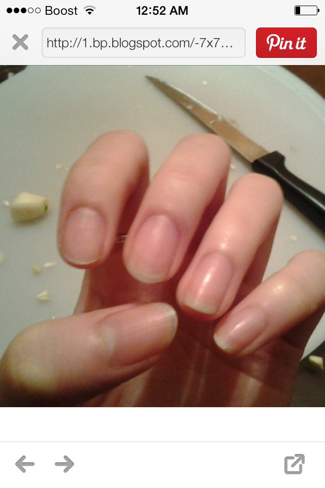 Long, strong, and healthy nails !