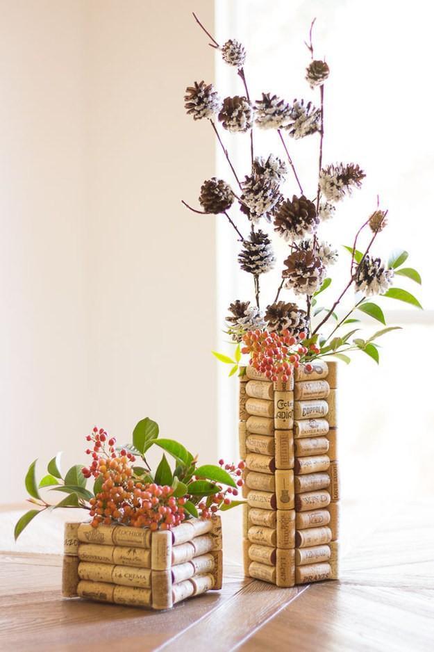 Graphic Cork Flower Pots