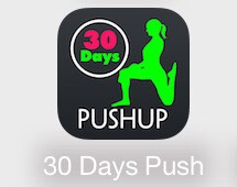 The 30 day push-up  challenge it has beginner level 1&2 and intermediate level 1&2 and for the advance level 1&2 you have to pay.