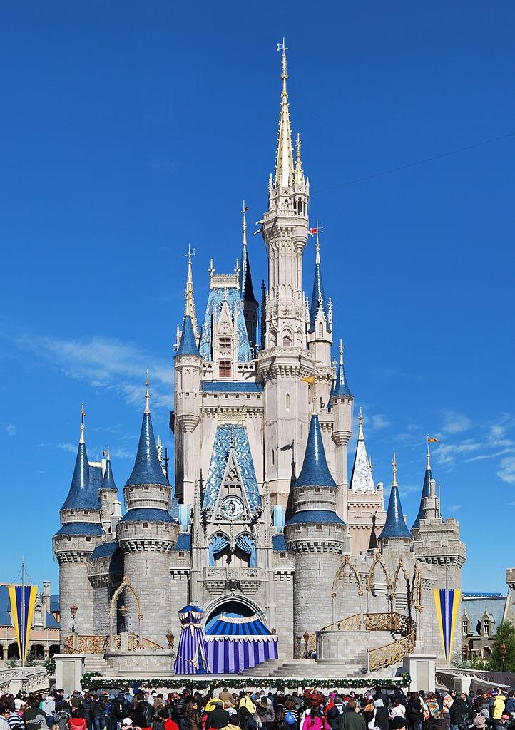 This is cinderellas castle