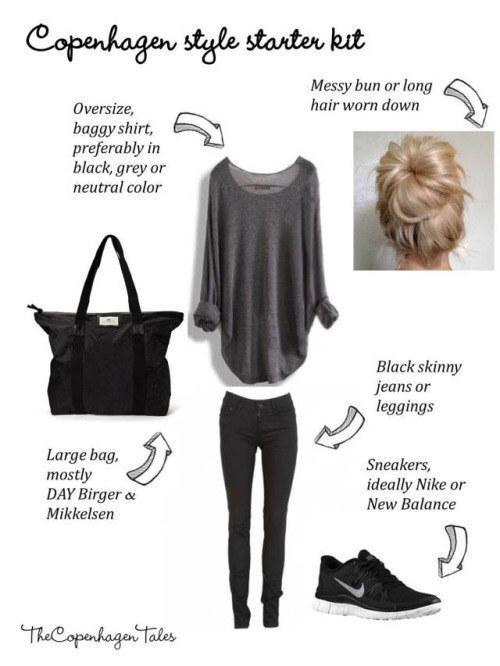 Messy bun + oversize boyfriend shirt = ❤️😍🍁