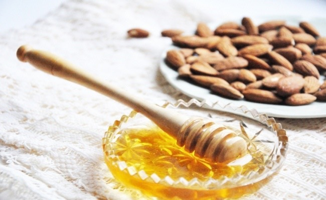 1 tablespoons of honey and few drops of alomond oil mix it Leave on face or neck Leave for 20 min wash with water
