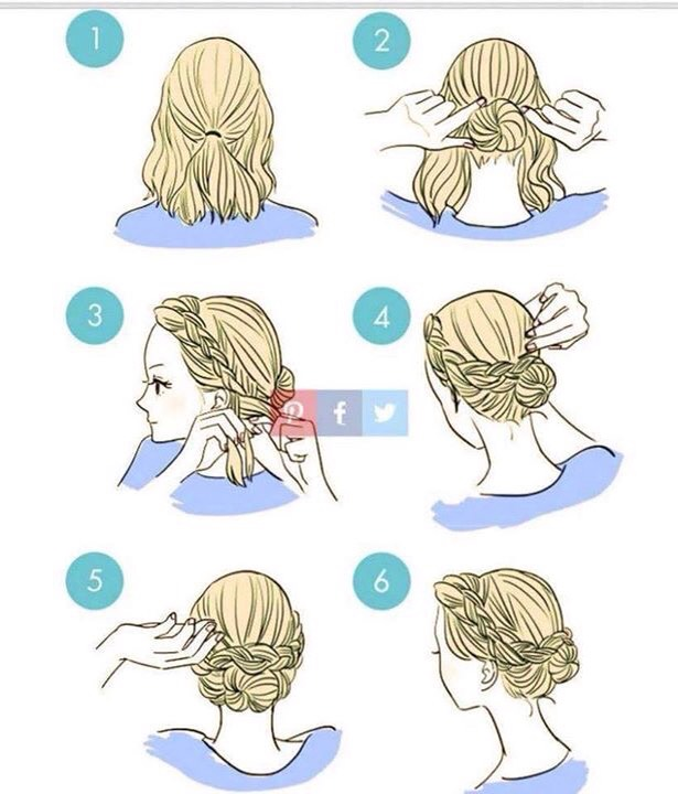 Tie Your Gorgeous Hair In Different Ways 💁🏻🎀💗 by Mag